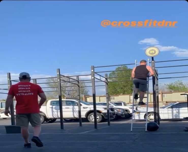 Rogue Monster 24' Rig Outdoor Murph 2020 - CrossFit DNR Fort Collins