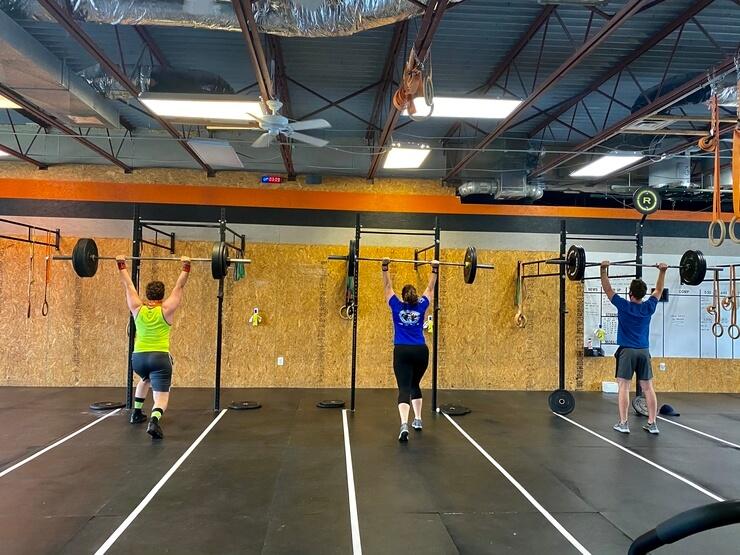 Triple Threat Heavy Jerks - CrossFit DNR Fort Collins