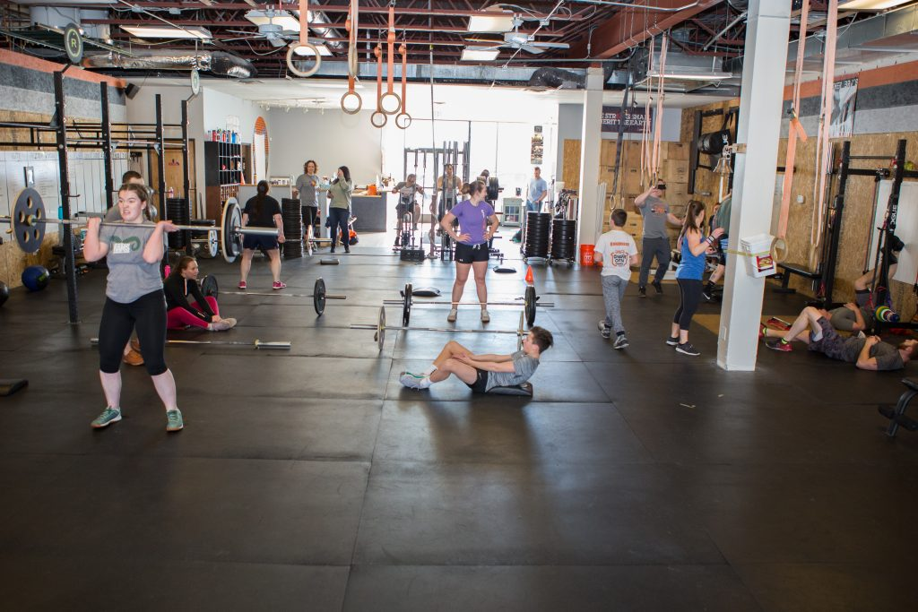 CrossFit DNR Group Workout Fort Collins CO