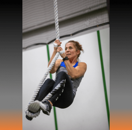 Rope Climbs and GHD's CrossFit QuarterFinals CrossFit DNR Fort Collins CO