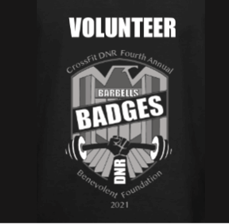 Volunteers Needed for Barbells and Badges Fundraiser comp CrossFit DNR Fort Collins
