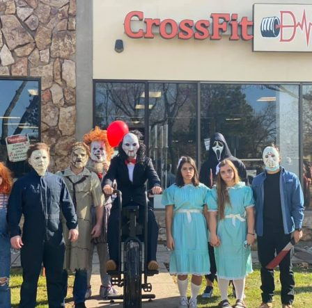 CrossFit DNR Halloween Costume Party WOD